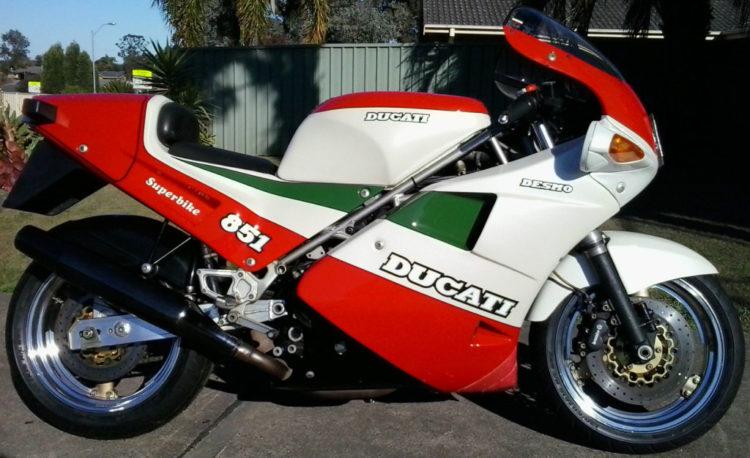 The 1988 Ducati 851 Strada