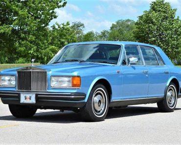 The Rolls-Royce Silver Spirit