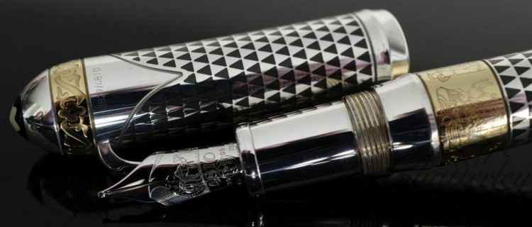 montblanc fountain pen patron of art