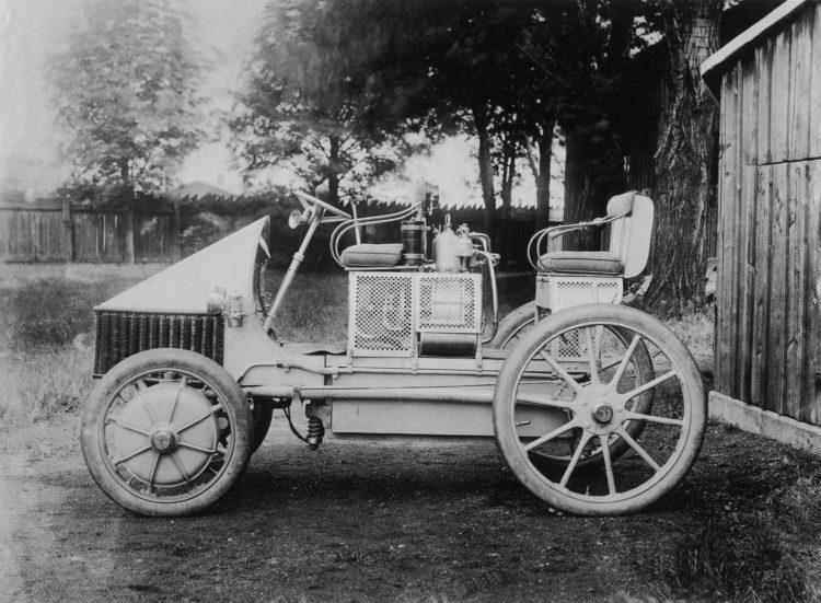 1901 Lohner-Porsche Hybrid