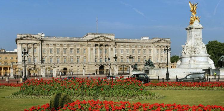 Buckingham Palace UK.