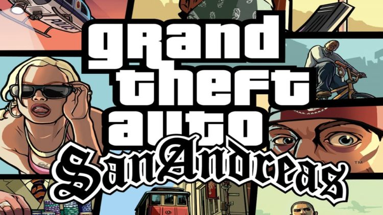 Grand Theft Auto Andreas
