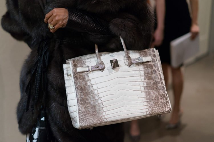 Hermes Himalayan Crocodile Birkin Bag