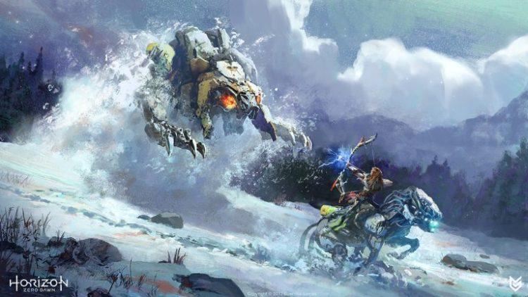 Horizon Zero Dawn and Frozen Wilds DLC