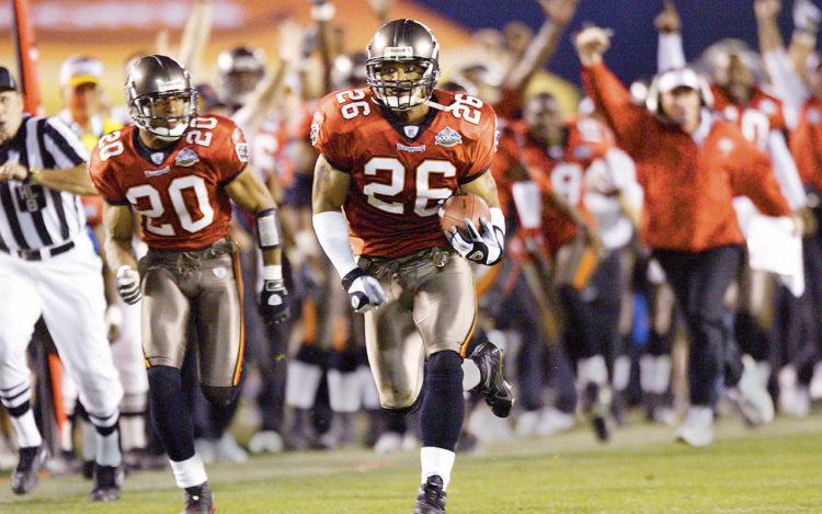 Super Bowl XXXVII in 2003