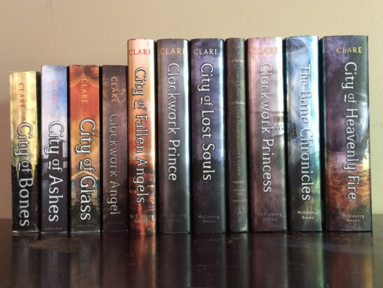 The Shadowhunter Chronicles by Cassandra Clare