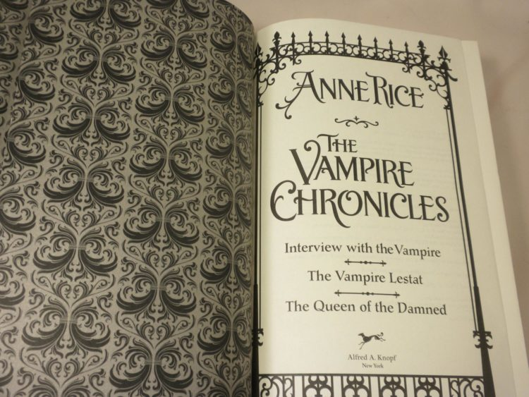 The Vampire Chronicles by Anne Rice