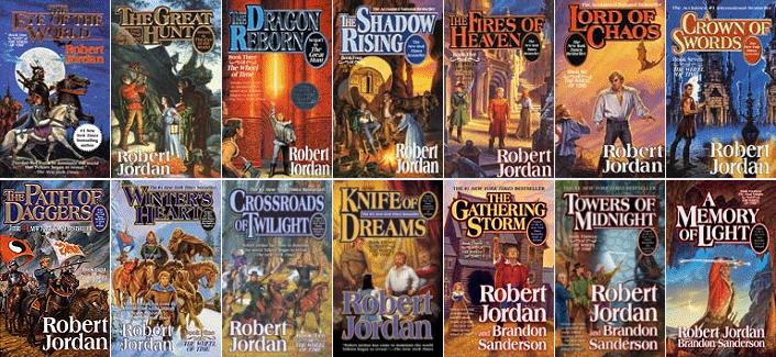 The Wheel of Time by Robert Jordan and Brandon Sanderson