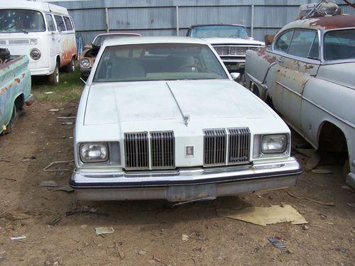 1979 Oldsmobile Cutlass Supreme Diesel