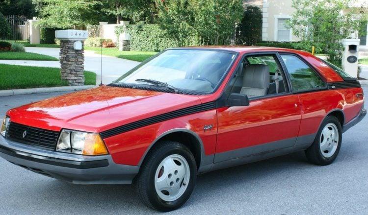 1982 Renault Fuego