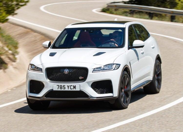 2018 Jaguar F Pace SVR - $79,990