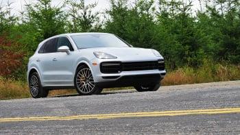 2018 Porsche Cayenne Turbo - $125,850