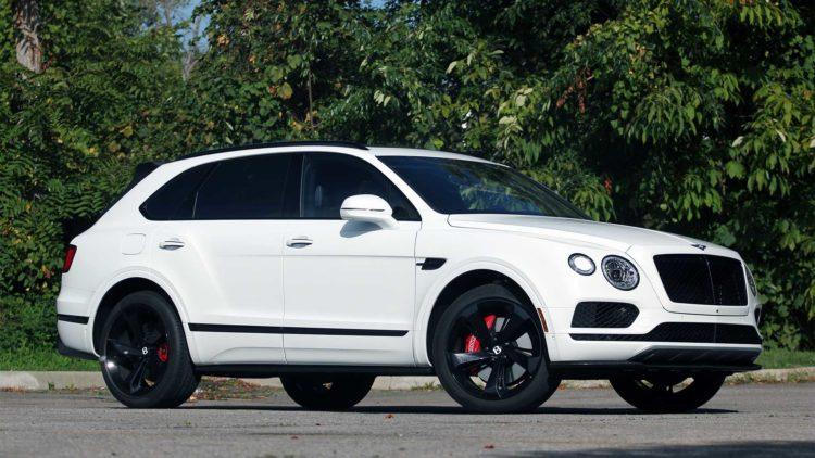 2019 Bentley Bentayga - $243,325 fully loaded