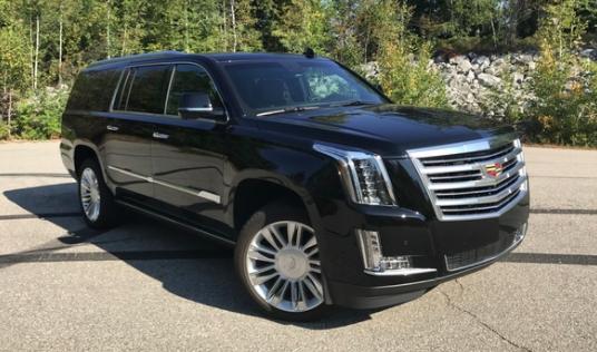 2019 Cadillac Escalade ESV Platinum 4 WD - $100,295