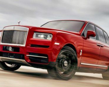 2019 Rolls Royce Cullinan - $325,000