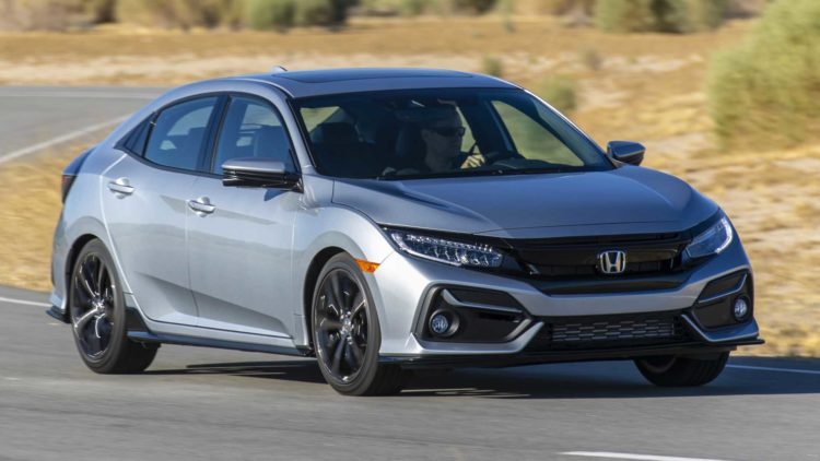 2020 Honda Civic-  $21,650