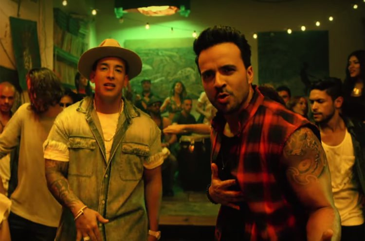Despacito – Luis Fonsi ft. Daddy Yankee.