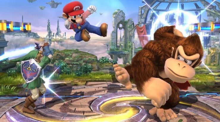 Super Mario Smash Brothers