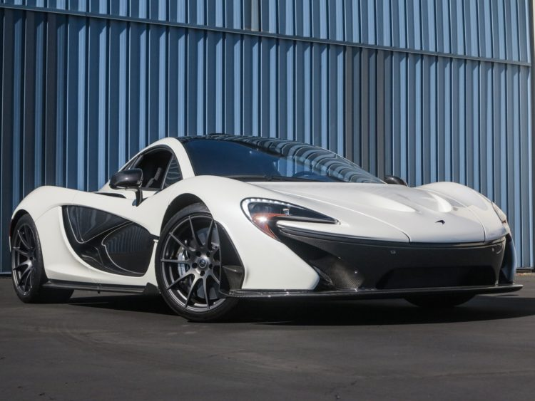White 2015 McLaren P1