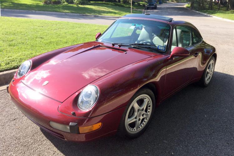 1996 Porsche Targa 993