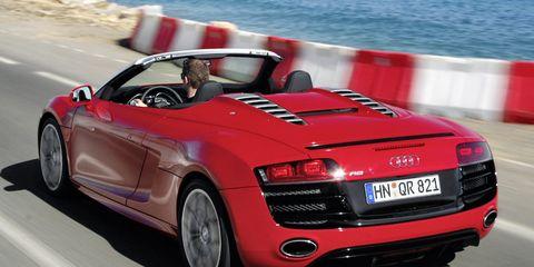 2011 Audi R8 Spyder 5.2 V10 FSI Quattro Convertible