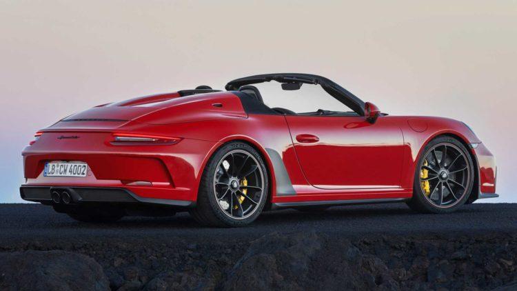 2019 Porsche 911 Speedster 911