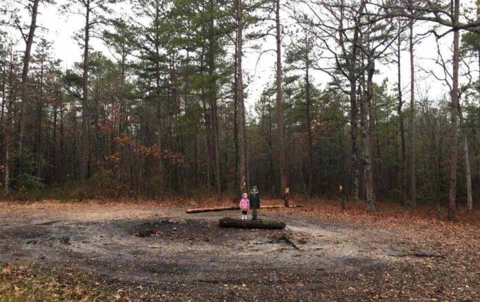 Devil's Tramping Ground, North Carolina
