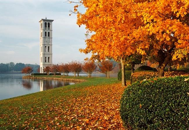 Furman University, South Carolina