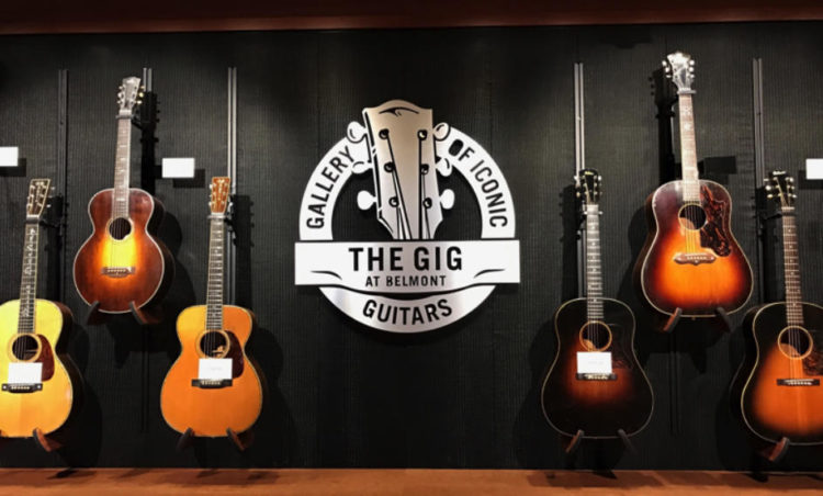 Gallery of Iconic Guitars