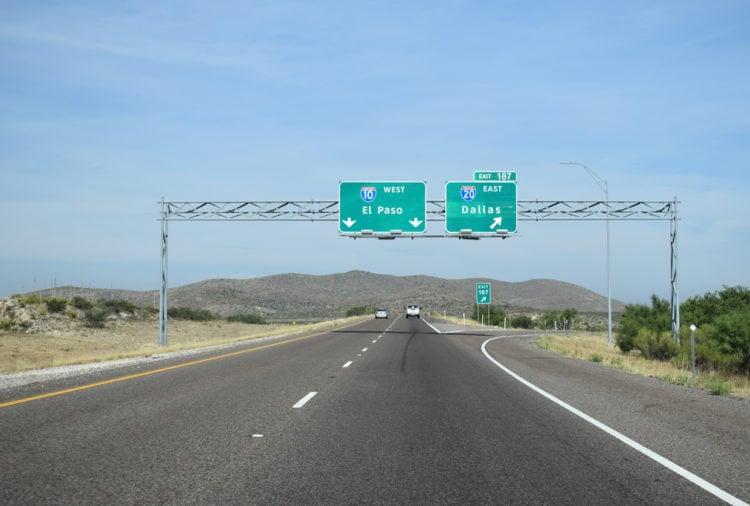 Interstate 20 Texas