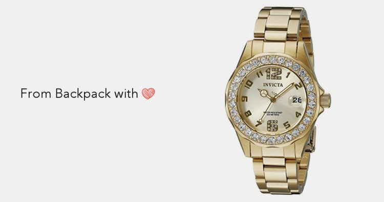 Invicta 0489 Angel CollectionCubic Zirconia-Accented Watch