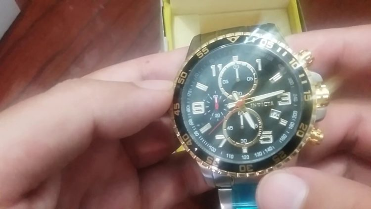 Invicta Men's 14876 Specialty Chronograph 18k Gold adn Stainless Steel
