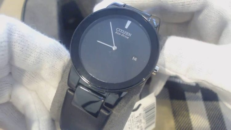 Ion-Plated Axiom Citizen Watch