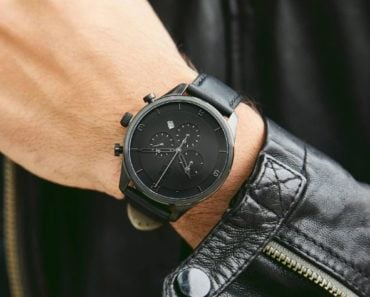 MVMT Chronograph Gunmetal Black