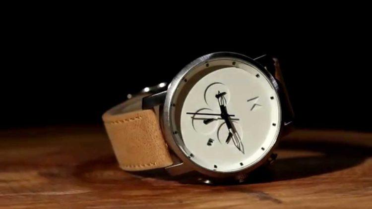 MVMT Chronograph White Caramel