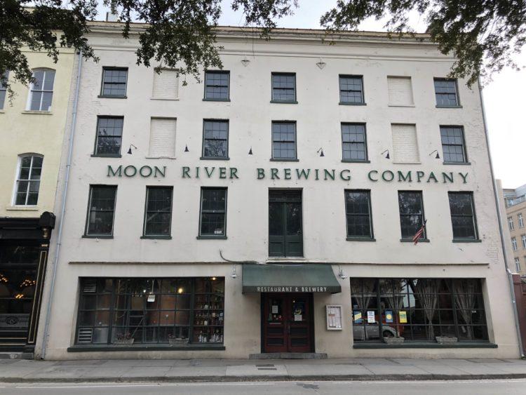 Moon River Brewing Company, Savannah, Georgia