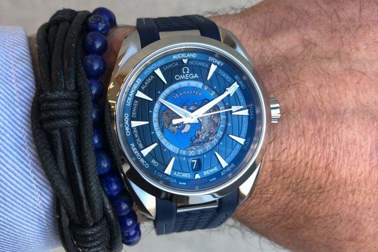 Omega Aqua Terra 150M Co-Axial Worldtimer