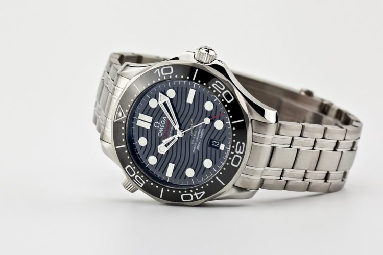 Omega Seamaster Black Dial Watch