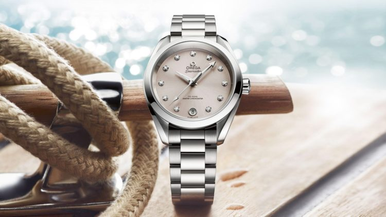Seamaster Mother of Pearl Dial Watch