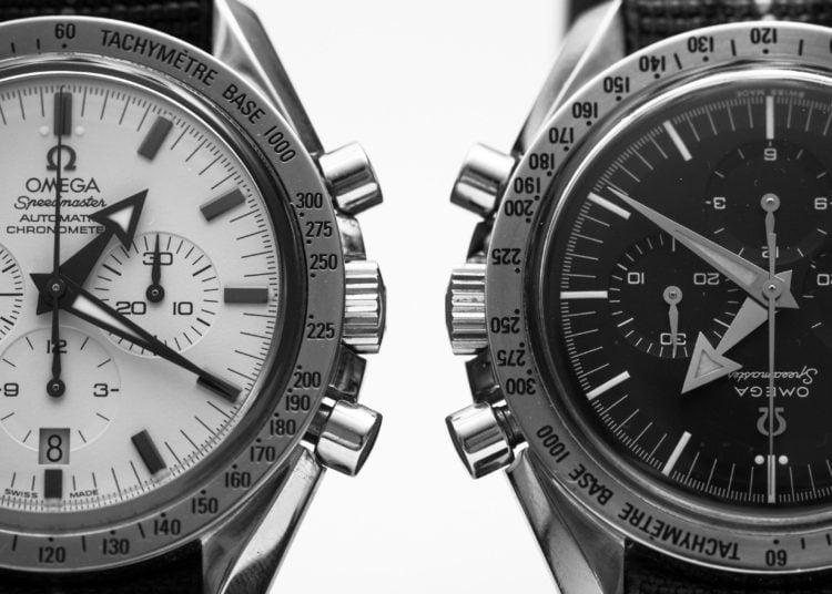 Omega Speedmaster Broad Arrow Black Dial Watch