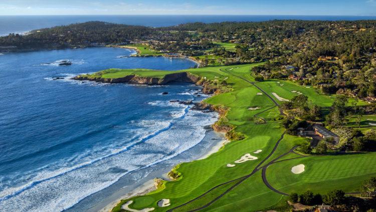Pebble Beach Golf Links, Monterey Peninsula, California