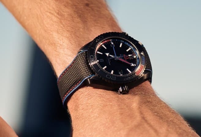 Seamaster Planet Ocean 600M Diver Chronograph in Solid Red Gold