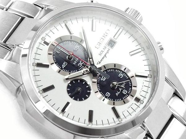 Seiko Men's Stainless Steel Solar Watch