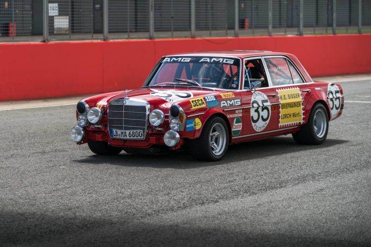 The 1971 AMG 300 SEL 6.8…aka…'The Red Pig'