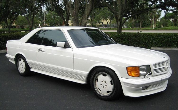 The 1983 AMG 500SEC