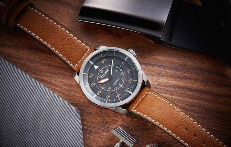 The Avion Eco-Drive Stainless Steel Citizen Watch