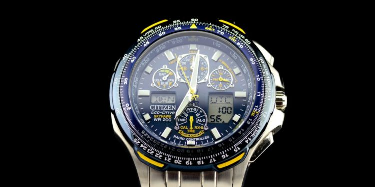 The Eco-Drive Blue Angels