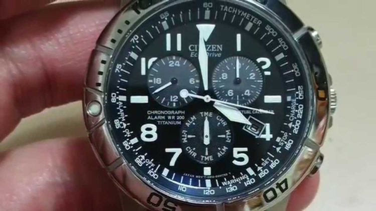 The Perpetual Calendar Chronograph Citizen Watch