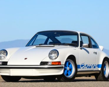 The Porsche 911 Carrera RS
