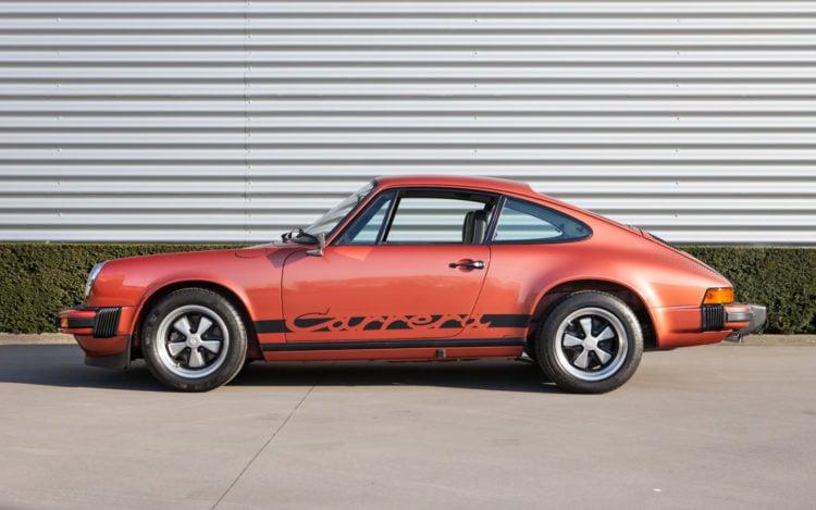 The Porsche Carrera 2.7 MFI